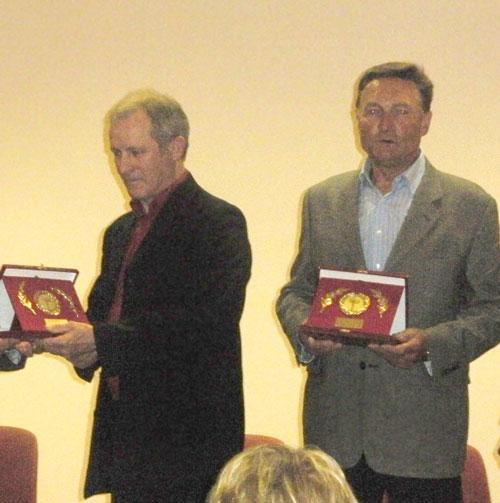 Deux lauréats au challenge sportif