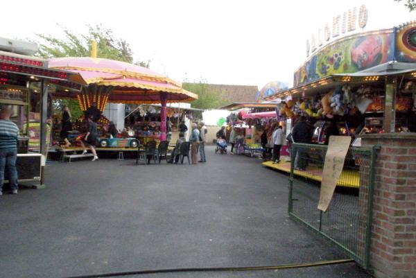 la fête du village du 18 juin